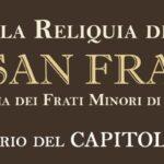La reliquia del Serafico padre San Francesco.