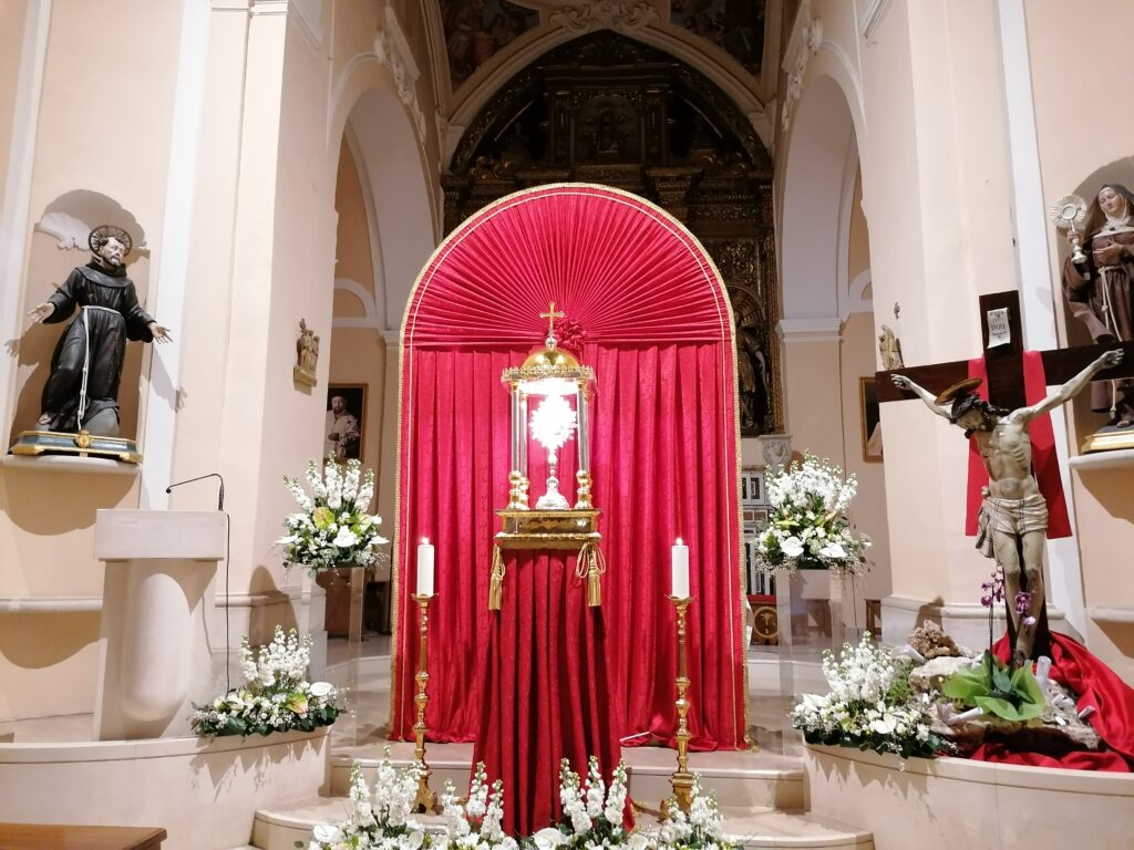 Quarantore 15-17 Marzo 2021 Parrocchia Santa Maria Vetere Andria
